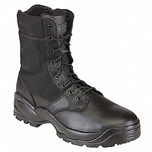 "8""H Men's Speed 2.0 Boot, Plain Toe Type, 430G Ripstop Nylon Upper Material, Black, Size 12"
