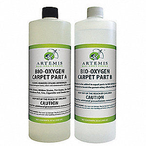 4 x 1 qt. Carpet Cleaner, 2 PK