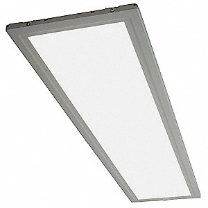 Ceiling Fixture,LED,Edgelit,1x4