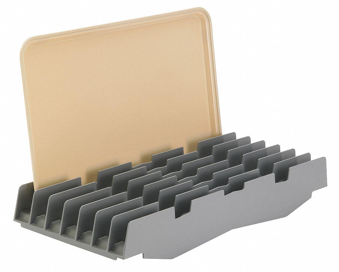 Cambro Drying Shelf 7 Slots Abs 22nv13 Eacsdr7151 Grainger
