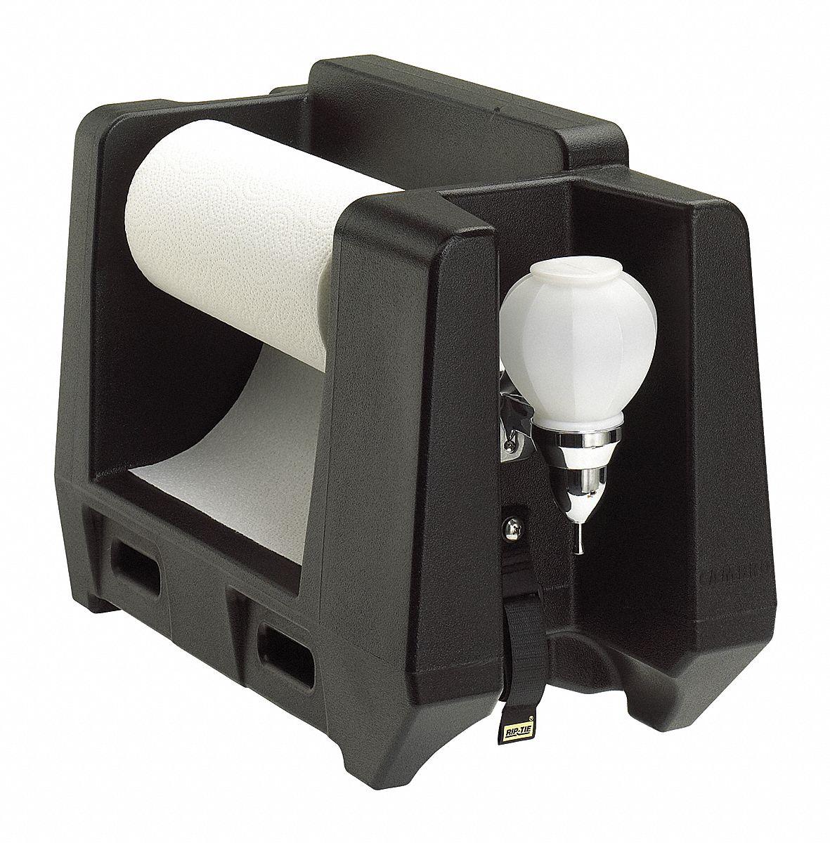 Cambro Paper Towel And Soap Dispenser Black 22nv23 Eahwapr110 Grainger