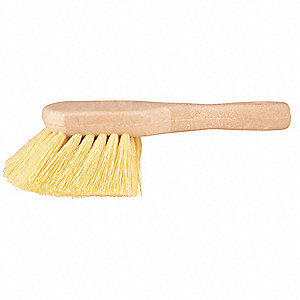 "8-1/2 x 3 x 7/8"" Plastic Acid Brush"