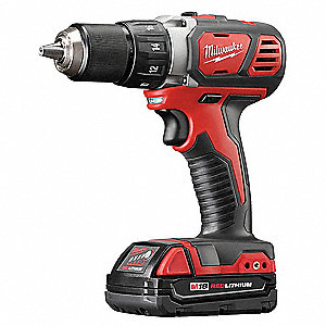 "M18 Li-Ion 1/2"" Cordless Drill/ Driver Kit, Battery Included"