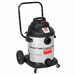 10 gal. Industrial Wet/Dry Vacuum, 2 Peak HP, 120 Voltage