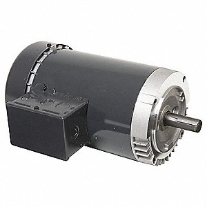 5 HP General Purpose Motor,3-Phase,1800 Nameplate RPM,Voltage 208-230/460,Frame 184TC