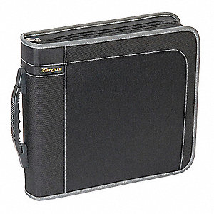CD/DVD Wallet, Black, Capacity 160