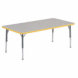 Table,30 x 60 In,Gray Nebula,Preschool-K