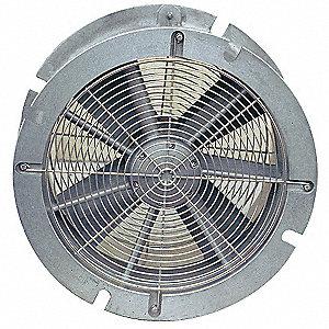 Air Systems International Conf Sp Vent Fan Aluminum Silv