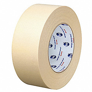 "Masking Tape, 60 yd. x 2"", Natural, 5 mil, Package Quantity 24"