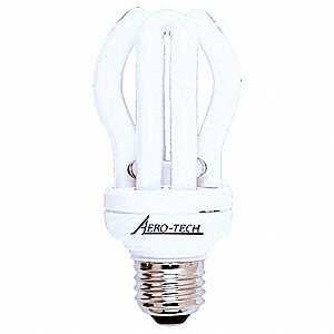 Screw-In CFL,11W,A19,Medium
