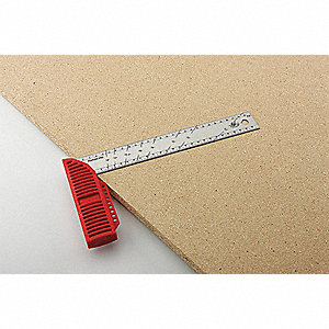 Try Square,SS/Red Polymer,12 In,mm/cm