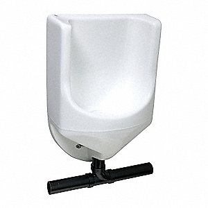 Waterless Urinal,28 In.,HPC,Fiberglass