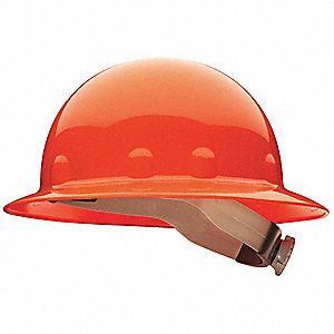Hard Hat,Full Brim,E/G/C,Ratchet,Orange