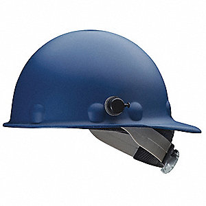 Hard Hat,Front Brim,G/C,SwingStrap,Blue