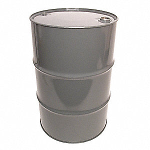 Transport Drum,Closed Head,55 gal.,Gray