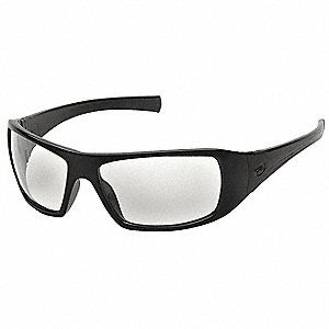 Safety Glasses,Clear Lens,Wraparound