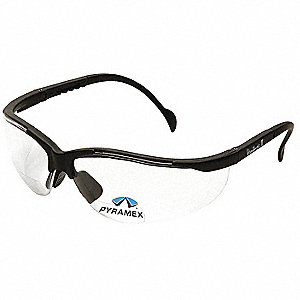 Safety Reader Glasses,1.5 Diopter,Clear