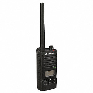 VHF LCD Portable Two Way Radio, Number of Channels 8
