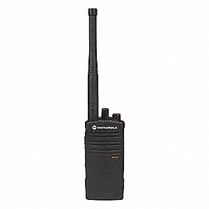 VHF No Display Portable Two Way Radio, Number of Channels 10