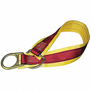 Anchrage Connctr Strap,Polyester,36 In L