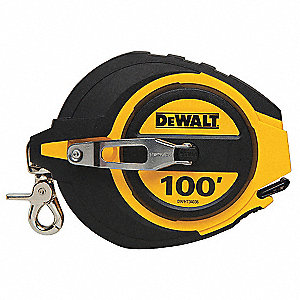 Steel 100 ft. Long Tape Measure