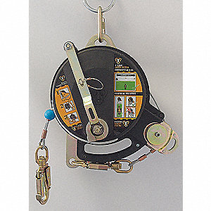 Self-Retracting Lifeline,Steel,310lb