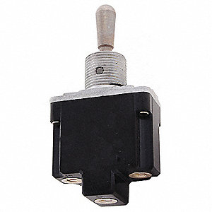 Toggle Switch, Number of Connections: 2, Switch Function: On/Off, 15A @ 277VAC AC Contact Rating