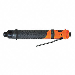 Industrial Duty Air Screwdriver, Precision Shut-Off Clutch Type, 1100 rpm Free Speed