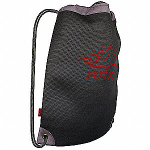 Canvas Helmet Bag, Welders, Number of Pockets: 1, Black