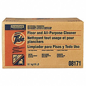 18 lb. Floor Cleaner, 1 EA