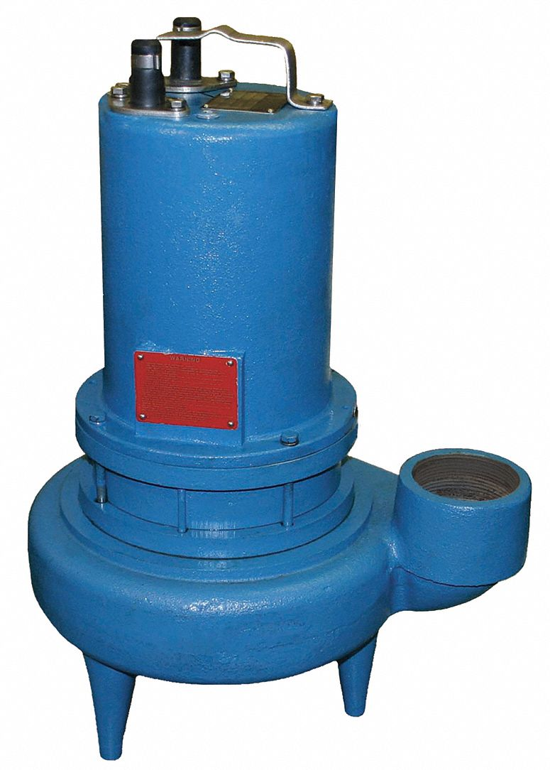 Barnes 2 Hp Automatic Operation Double Seal Sewage Ejector