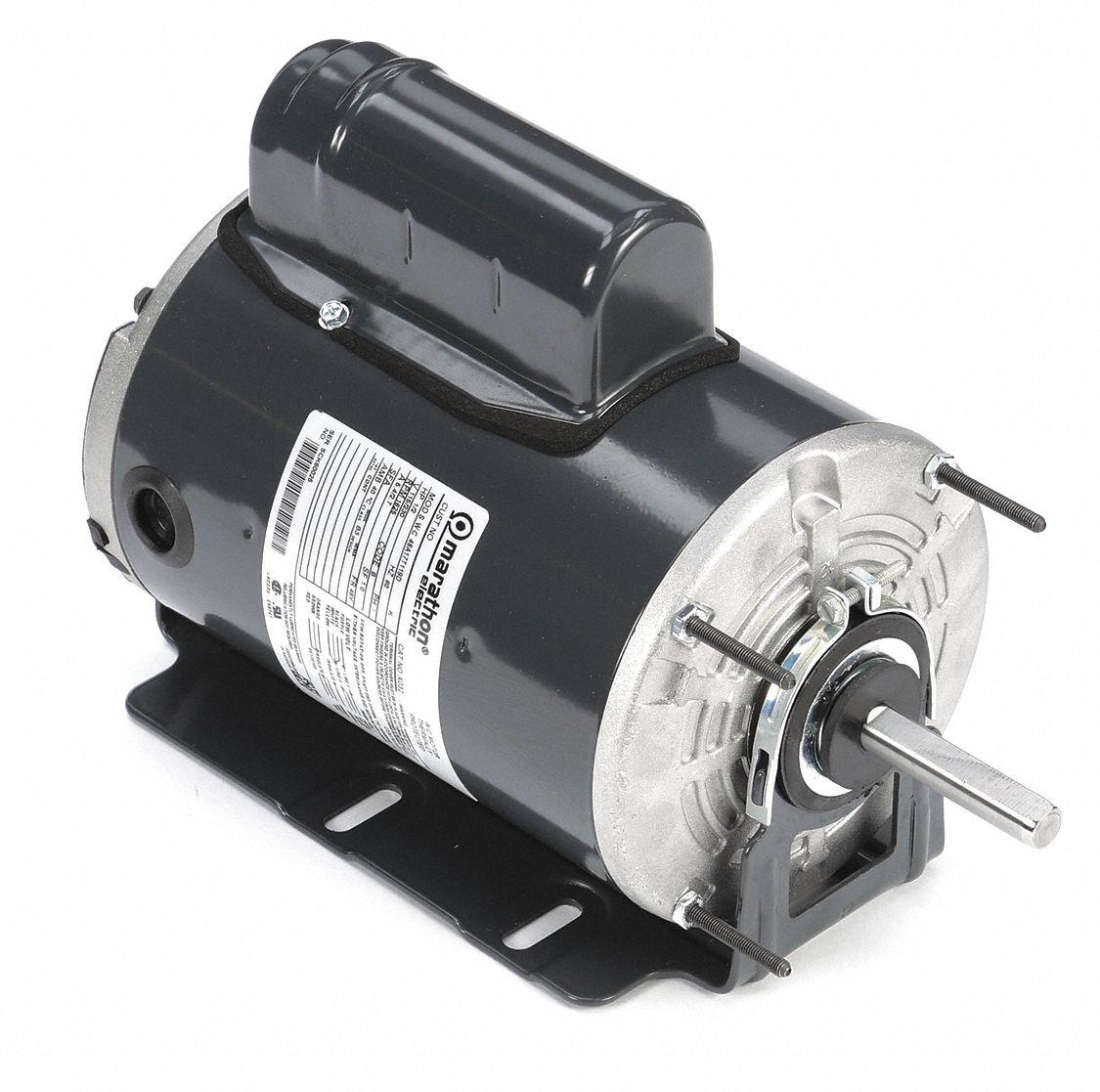 Marathon Motors Motor Psc 1 2 Hp 1625 Rpm 115 230 V