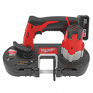 Cordless Band Saw Kit,12.0V,27 In. Blade