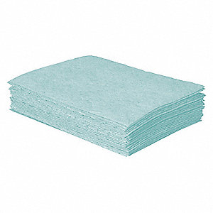 Absorbent Pad,12 In.,5.5 gal.,PK50