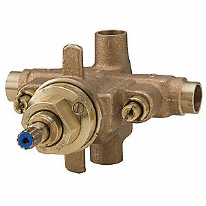 Shower Valve Body,Brass,7-5/8 in.