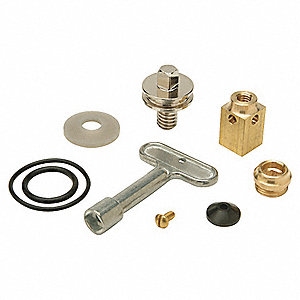 Plastic, Rubber, Bronze Wall Hydrant Repair Kit for Zurn Wall Hydrant