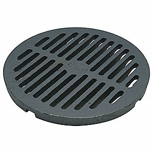 Zurn Cast Iron Gray Floor Grate Pipe Dia Drop In