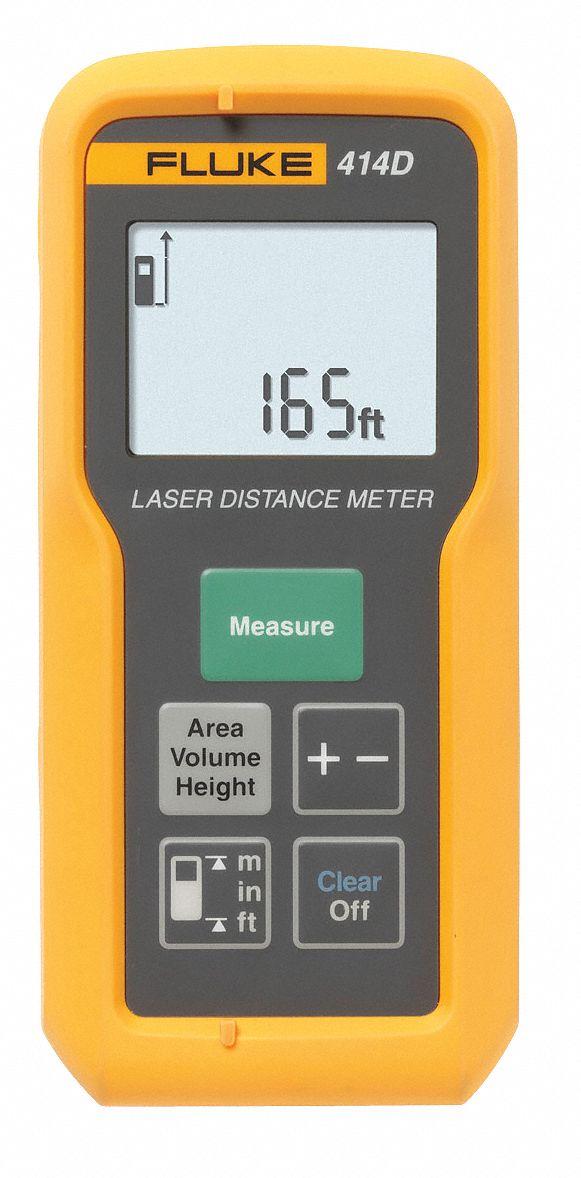 fluke laser distance meter 165 ft max distance 1 8 accuracy 24y893 fluke 414d wwg grainger. Black Bedroom Furniture Sets. Home Design Ideas