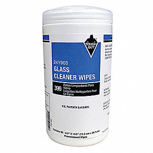 "Floral Fragrance Cleaning Wipes, 6"" x 10-1/2"", 90 Wipes per Container, 1 EA"