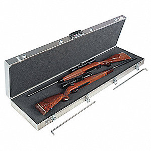 Gun Case,2 LG Scoped Rifles