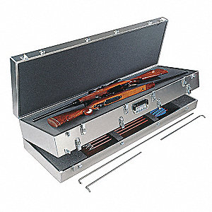 Gun Case,Archery and Double Rifle Combo