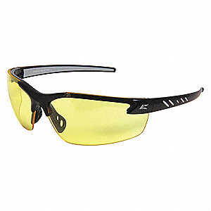 Safety Glasses,Yellow,Scratch-Resistant