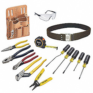 General Hand Tool Kit, Number of Pieces:  14, Application:  Journeyman