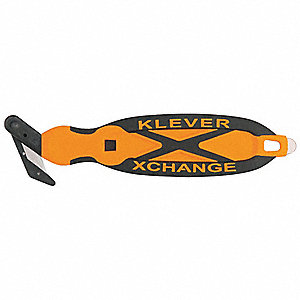 "Fixed Blade 6-3/4"" Safety Utility Knife, 1 EA"