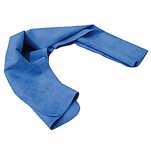 Cooling Towel,29-1/2x13 In.,Blue