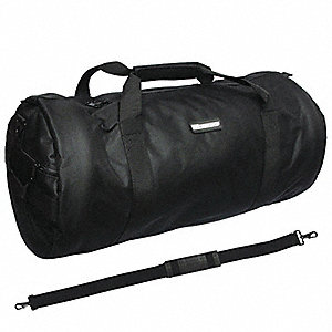 Duffel Bag,29x13x13In,600D Polyester,Blk