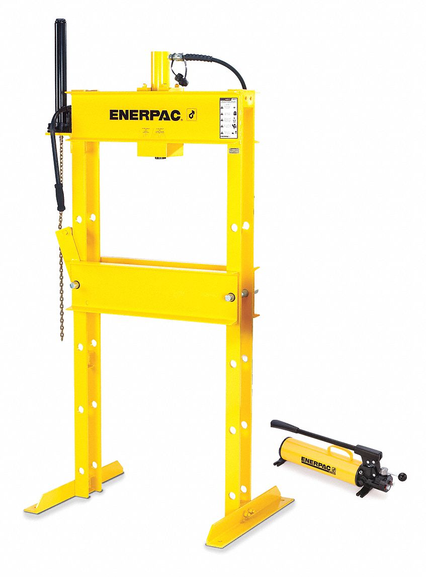 Enerpac Hydraulic Press Manual H Frame Double Action