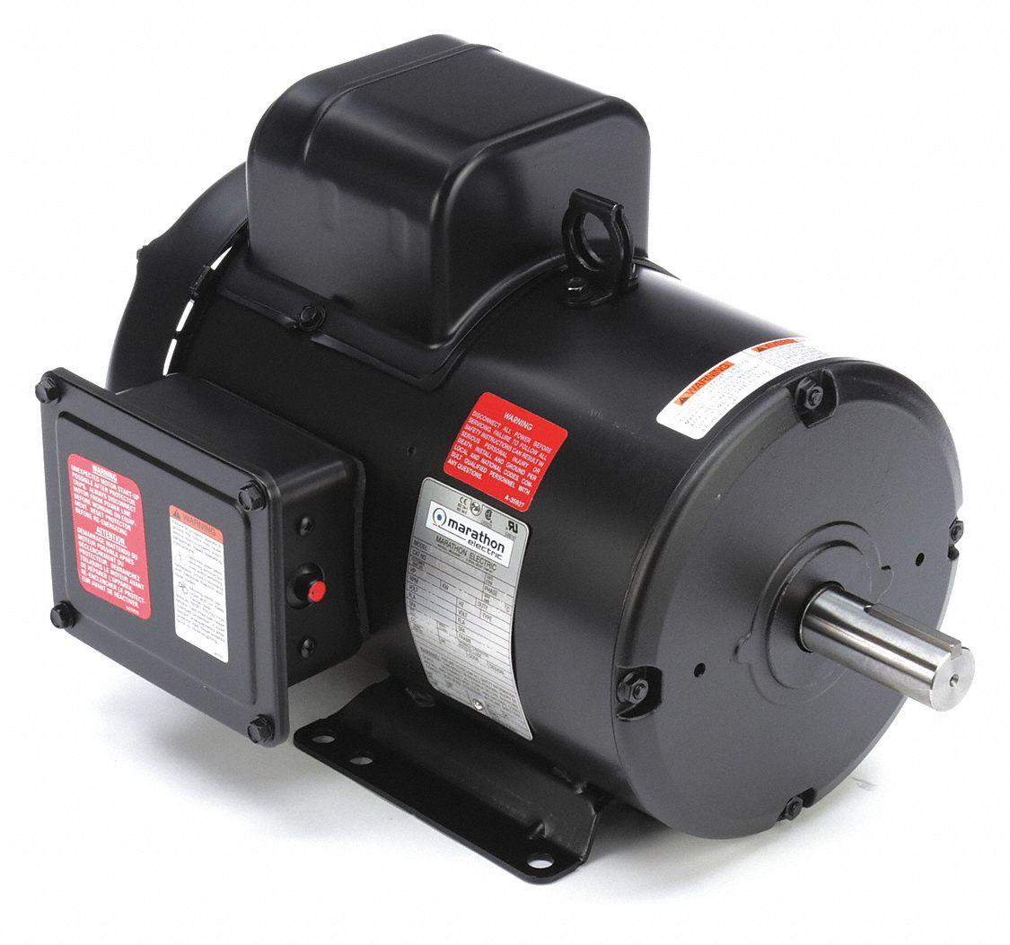 Marathon Motors Torque Chore Motor 3 Hp 60 Hz 230 26ck62