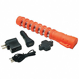 Baton Road Flare,Red LEDS