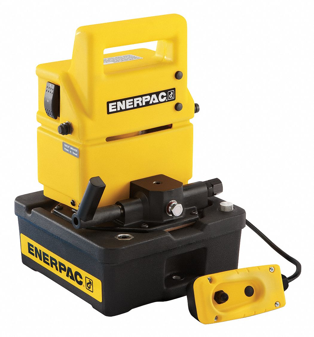 Enerpac Electric Hydraulic Pump With Dump And Hold Control